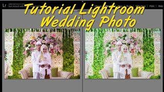 Tutorial editing massal wedding photo di Lightroom