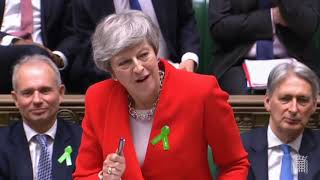 Prime Minister's Questions: 15 May 2019 - inequality, food poverty, climate change