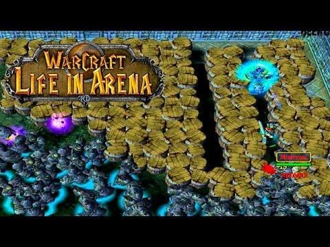 Вампир живет на арене Warcraft 3