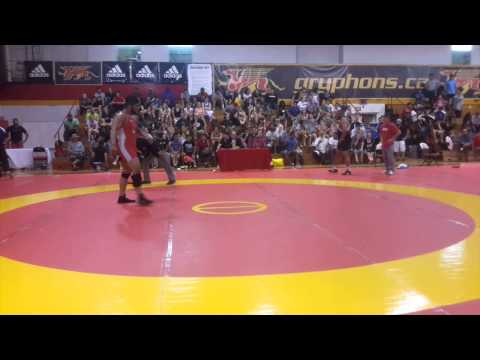 2014 Canada Cup: 125 kg Final Amar Dhesi (CAN) vs. Dom Bradley (USA)