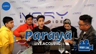 Sandiwa - Paraya (Live Performance)