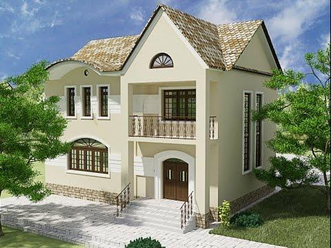Современные фасады частных домов