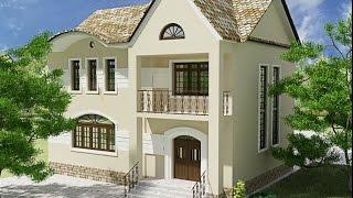 Современные фасады частных домов(Проработка проекта дизайна фасада дома, или коттеджа потребует не только четкого представления его вида,..., 2014-09-04T09:12:25.000Z)