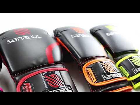 Sanabul - Essential Gel Boxing Kickboxing Training Gloves