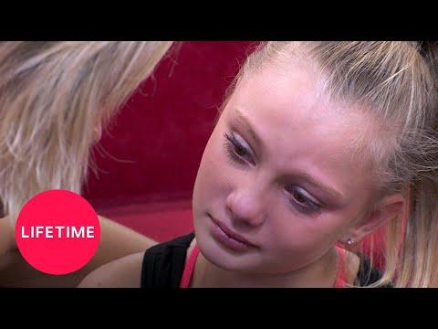 Dance Moms: Maesi's Nerves MAKE HER SICK (Season 7 Flashback)   Lifetime