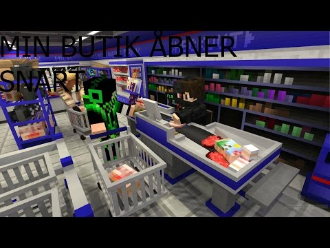 Dansk Minecraft: MINELAND #13 VORES EGEN BUTIK!!!!!!!!!!