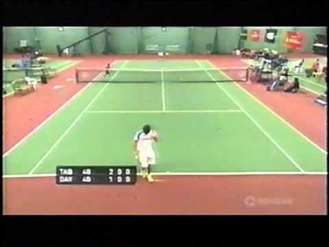 2013 U18 Indoor Rogers Junior National Singles Championship pt. 1