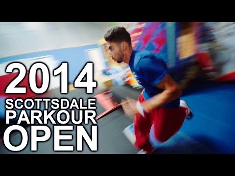 Speed Course Runs - Scottsdale Parkour Open 2014