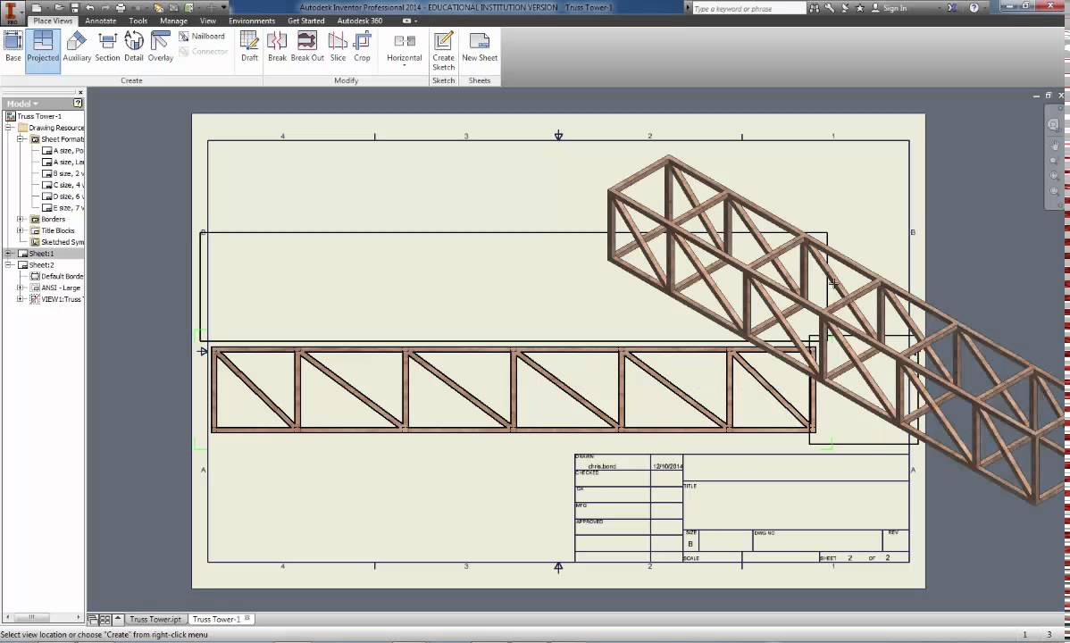 Box beam girder print full scale youtube for How to build a box beam