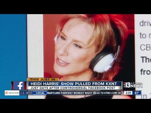 Heidi Harris show pulled from CBS Radio