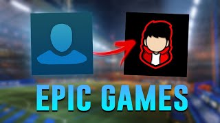 How To CHANGE YOUR PROFILE PICTURE In Rocket League! (Epic Games)