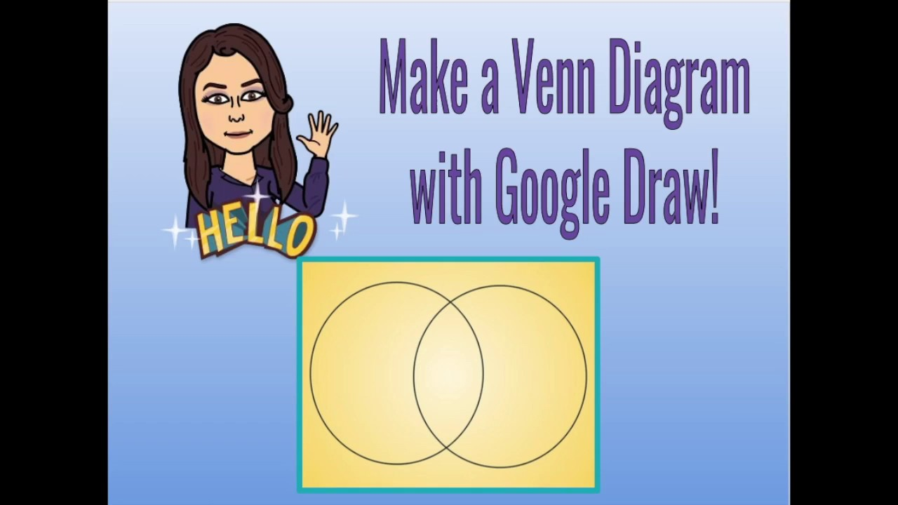 Making A Venn Diagram With Google Draw