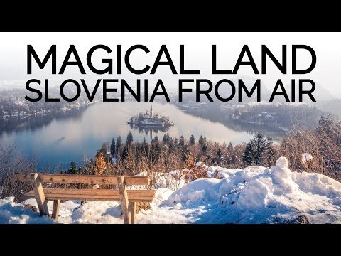 Magical land - Best drone shots of Slovenia