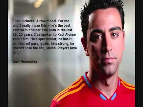 Download Footballs finest tribute to Paul Scholes