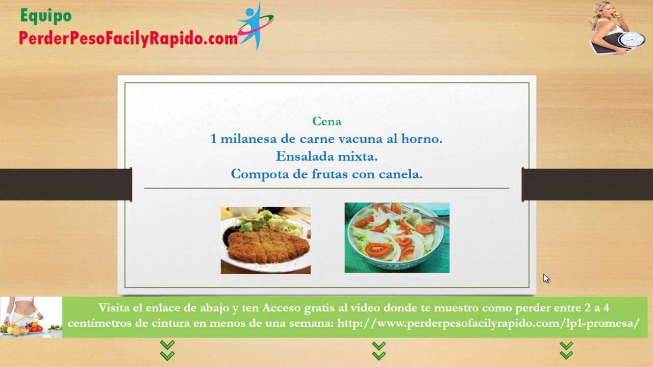 Dietas gratis para bajar de peso rapido cormillot dietas