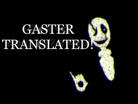 Undertale 3D | Gaster Translated! (+Wingding Translating Kit!)