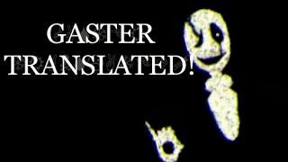 Undertale 3D | Gaster Translated! (+Wingding Translating Kit!)