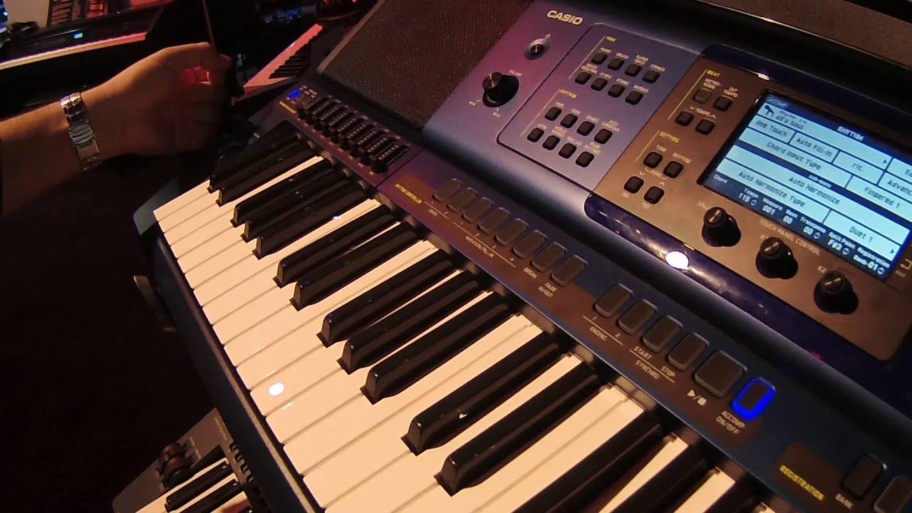 CASIO CTK-3500 - самый дешевый синтезатор с активной клавиатурой .