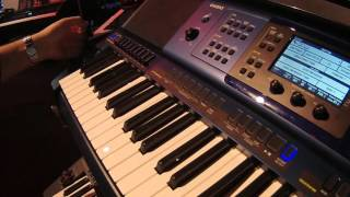 NAMM 2016 Casio MZ-X300 and MZ-X500 Arranger Keyboards