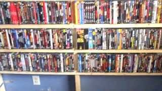Home Made  Dvd Shelving Unit  And A Shout Out.