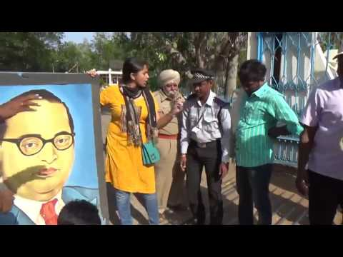Protest at HCU AGAINST THE REMOVAL OF Babasaheb Ambedkar's posters | ANN 24X7
