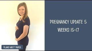 Week 15-17 Pregnancy Update   My Amniocentesis Experience