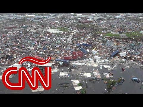 Bahamas: primeras imágenes aéreas de la devastación sin precedentes por Dorian