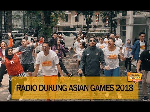RADIO DUKUNG ASIAN GAMES 2018