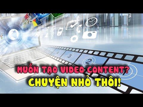 Hướng dẫn tự tạo Video Content với camera ảo Online