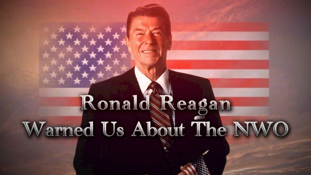 Ronald Reagan Warned Us About Nwo Amp Agenda 21 Doovi