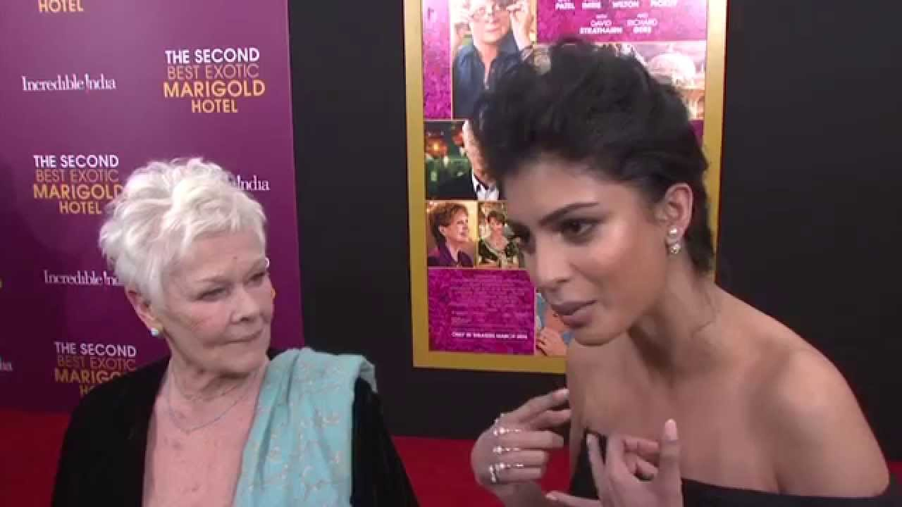 Download Judi Dench & Tina Desai Interview - The Second Best Exotic Marigold Hotel New York Premiere