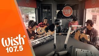 "Pinoy rock band Callalily performs ""Stars"" live on the Wish 107.5 B..."