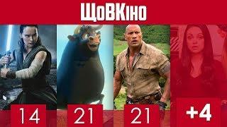 ЩоВКіно: Грудень 2017 | Зоряні війни: Останні джедаї, Фердинанд, Джуманджі: Поклик джунглів