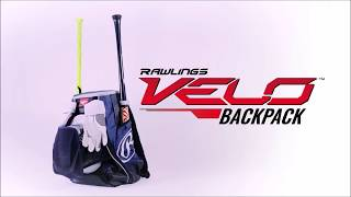 Rawlings Velo Baseball/Softball Backpack BatPack Review/Video