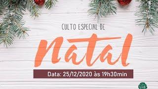 Culto de Natal | 25/12/2020