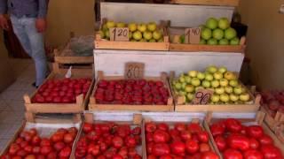 Азербайджан Своим Ходом. Гянджа. Стоимость фруктов. Парк Хан Багы. Вкусный чай. Нарды на улице