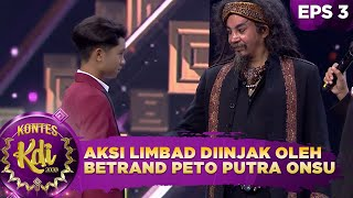 Seram! Aksi Limbad Diinjak Oleh Betrand Peto Putra Onsu, Ruben & Danang - Kontes KDI 2020 (17/8)