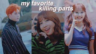 my favorite kpop killing parts