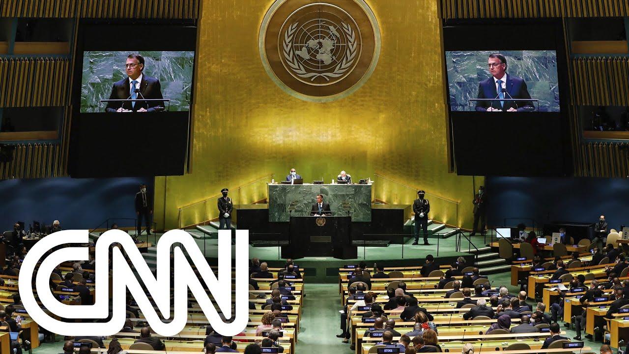 Download Imprensa internacional repercute discurso de Bolsonaro na Assembleia-Geral da ONU | CNN 360