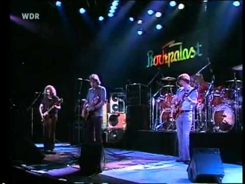 Jerry steals your face...Grateful Dead - He's Gone - Europe '81