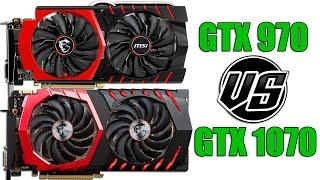 GTX 970 vs GTX 1070 | i7-6700k | 2560 x 1440 | in 14 games