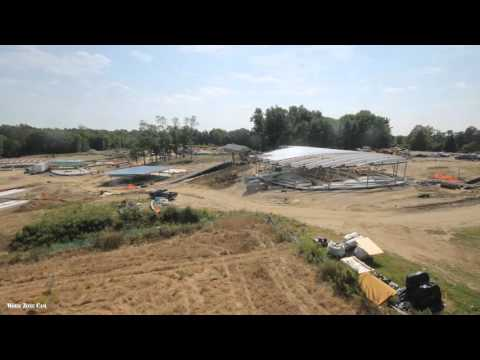 Watch construction of The River at Grace Farms in New Canaan with Work Zone Cam's time-lapse movie. The construction webcam captured progress for this beautiful project from September 2013 to October 2015, which can be seen in just 80 seconds.