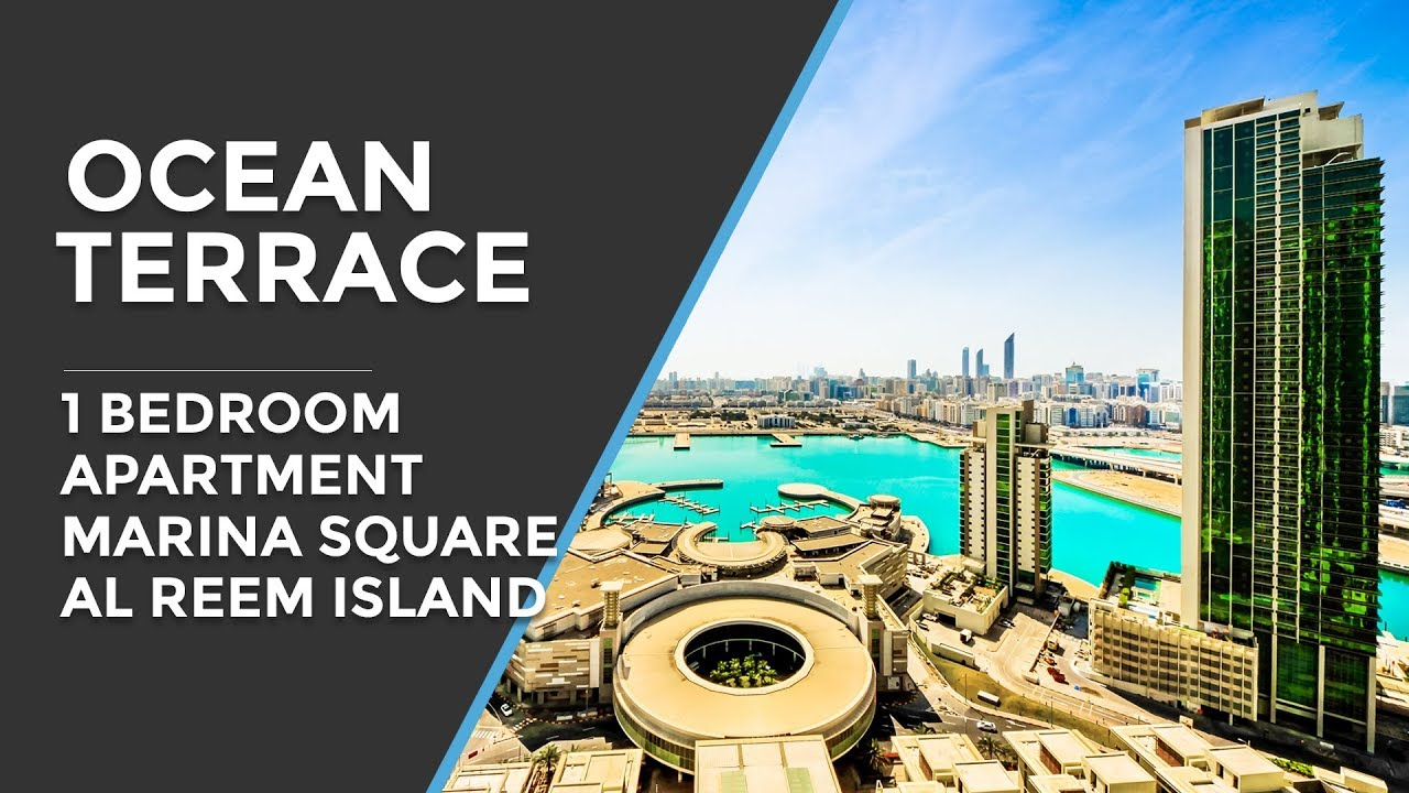 Ocean Terrace 1 Bedroom Apartment Marina Square Al Reem Island Abu Dhabi Youtube