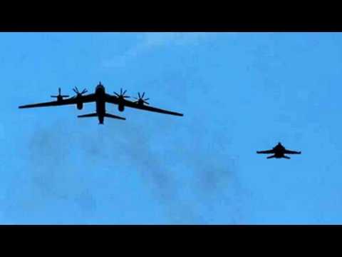 US Intercepted Two Russian Bombers Off Alaska's Coast