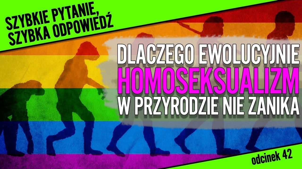 Dlaczego homoseksualizm ewolucyjnie nie zanika?