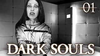 Dark Souls Walkthrough Part 1 - Asylum Breakout