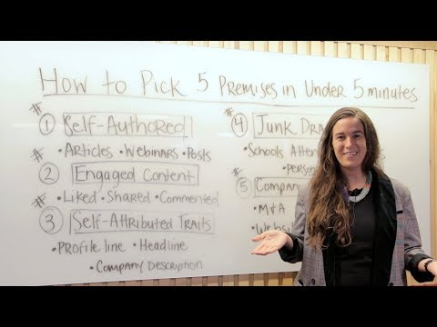 How to Pick 5 Premises for Your Prospects in Under 5 Minutes (ft. Becc Holland