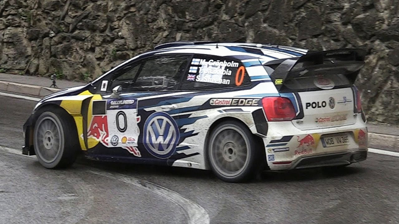 Marcus Grönholm At Rally Legend 2016 Vw Polo R Wrc Pure