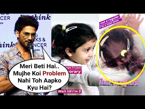 Shahid Kapoor Sh0cking Reaction On Daughter Misha Kapoor Trolled For Hair Color Mp3