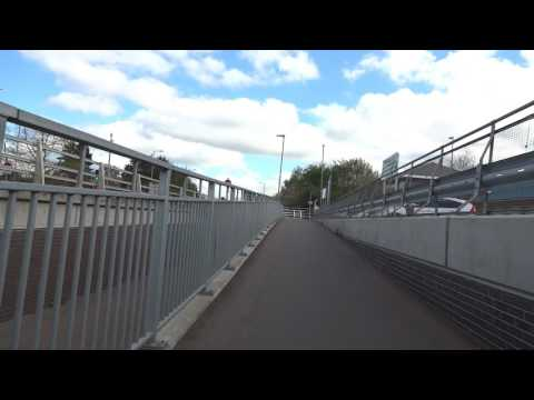 Bike ride to Cambridge North Station before it opened